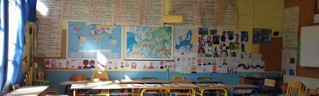 Une école maternelle et élémentaire de 8 classes